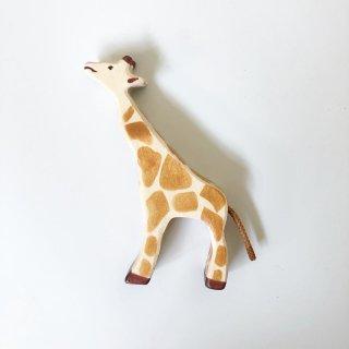 holz tiger giraffe small standing