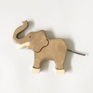 holz tiger elephant  runk raised