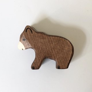 holz tiger brown bear small