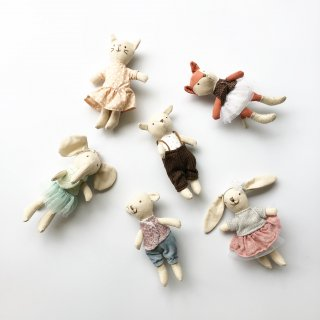 bloomingville  soft toy 6set