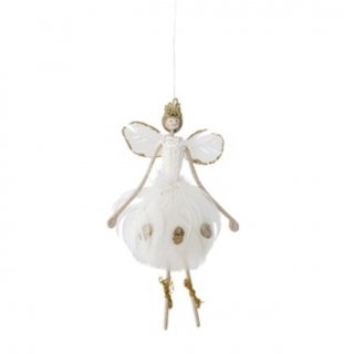bloomingville ornament angel feather