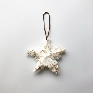 bloomingville ornament star feather
