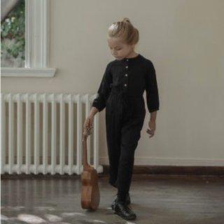 minimom olivia overalls black