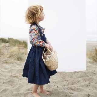 milou&pilou pinafore denim darkblue