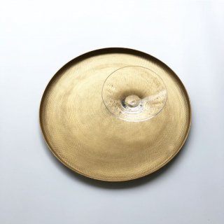 bloomingville  gold tray