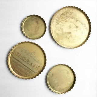 Last1! bloomingville  gold tray 4set