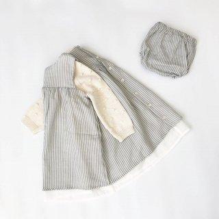 Last1! petit indi stripe dress with culotte