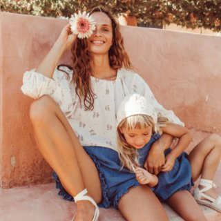 Liilu liilu blouse summer bloossom for mum