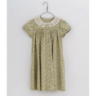little cotton clothes alma dress blossomfloral samphire