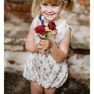 little cotton clothes afia romper tansy floral