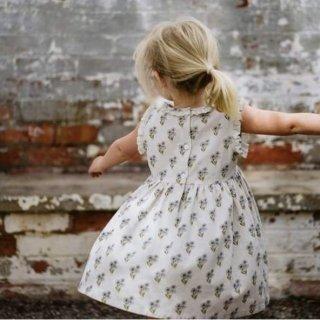 little cotton clothes celeste dress poppyfloral