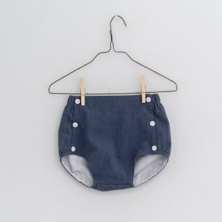 little cotton clothes folkstone bloomers willow blue