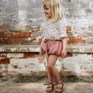 little cotton clothes carlie bloomers oldrose