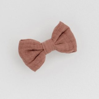 little cotton clothes small hairbow oldrose