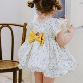 happyology  harrogate 2piece baby set blueflorals