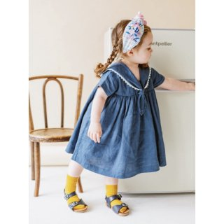 happyology  cavendish dress night blue