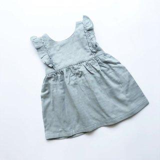lapetitecollection robe cotton bio blue