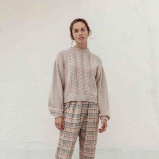 Liilu knit sweater ladies 9月末入荷予定