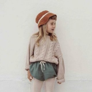 Liilu knit sweater 9月末入荷予定
