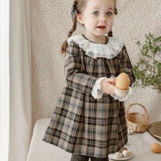 happyology  preston dress black plaid