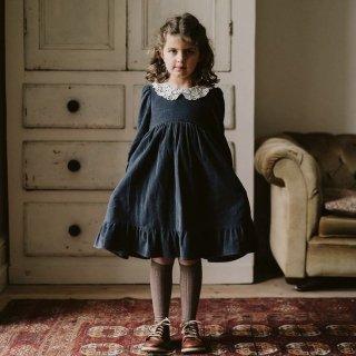 Last1! littlecottonclothes milda dress winter blue velvet 9月15日21時より販売予定