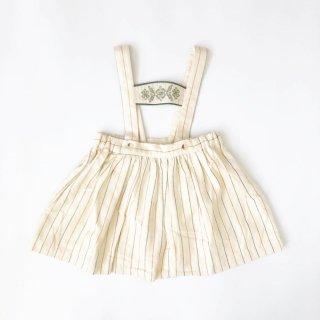 littlecottonclothes heidi skirt worker stripe  9月15日21時より販売予定