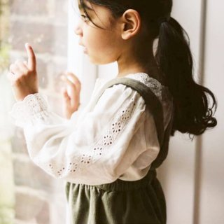 littlecottonclothes claudette blouse off white  9月15日21時より販売予定