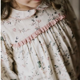 littlecottonclothes emma blouse mallow floral  9月15日21時より販売予定