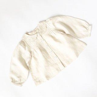 Last1! littlecottonclothes ruby blouse milk linen   9月15日21時より販売予定