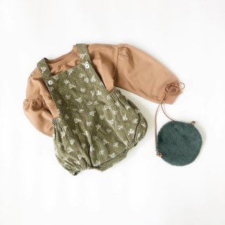 littlecottonclothes whitby  romper garden floral  9月15日21時より販売予定