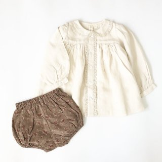littlecottonclothes poppy bloomer rose floral in oak 9月15日21時より販売予定