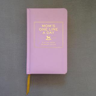 MOM'S ONE LINE A DAY           ご予約受付中