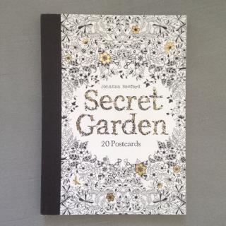 SecretGarden 20 postcard
