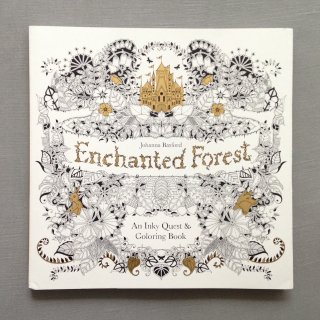 Enchanted Forest An Inky Treasure Hunt and Coloring Book        6月末入荷予定ご予約受付中