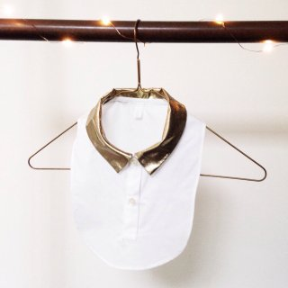 matao  detachable collar white x gold   ご予約受付中