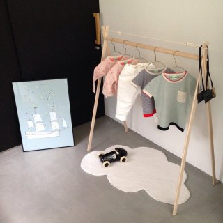 folk made short hanger rack         11月納期ご予約受付中
