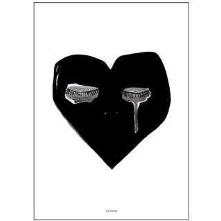 Pax&Hart Crying Heart poster 70x 50size
