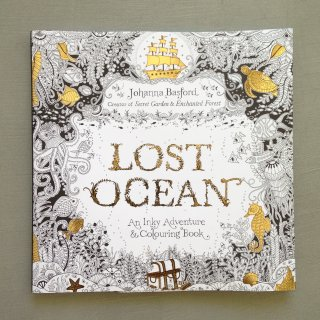 Lost ocean An Inky Treasure Hunt and Coloring Book