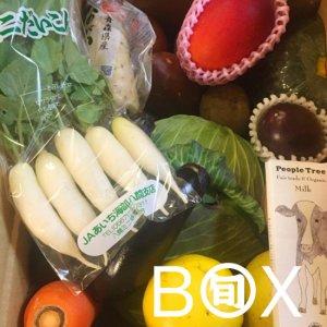 旬八ボックス(野菜果物・加工品)※送料込み・お届け地域限定〈赤坂店発送 〉