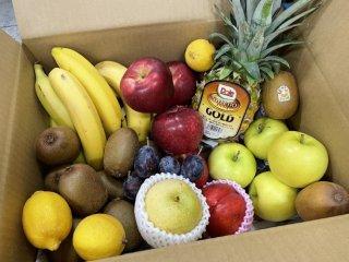 【大容量】旬八ボックス(ワケあり果物+旬のおすすめ果物詰め合わせ ※送料込み)