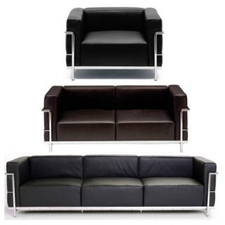 Le Corbusier LC3 Sofa /ル コルビジェ LC3 ソファー
