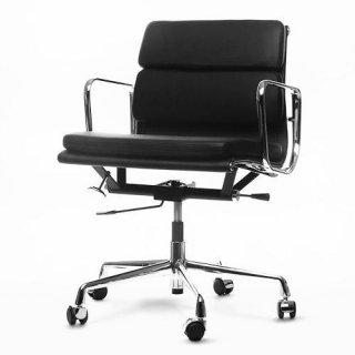 アルミナム マネージメントチェア(ローバック/ソフトパッド)/Alumininum Management Chair(Low/softpad)