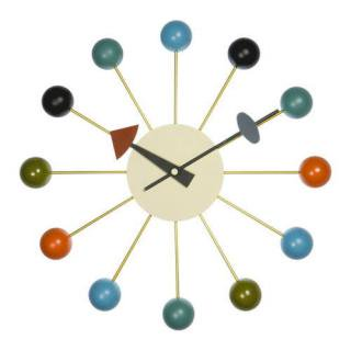 George Nerson Ball Clock Multi Color / ジョージネルソン ボールクロック マルチカラー