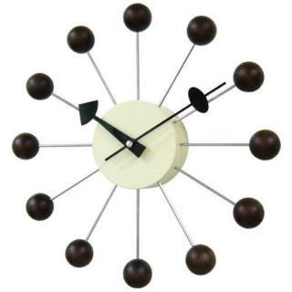 George Nerson Ball Clock Walnut / ジョージネルソン ボールクロック ウォールナット
