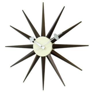 George Nerson Sunburst Clock Walnut/ジョージネルソン サンバースト クロック ウォールナット