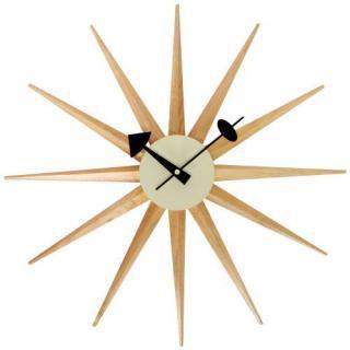 George Nerson Sunburst Clock Birch/ジョージネルソン サンバースト クロック バーチ