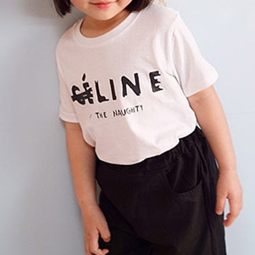 パロディT(ホワイト) FOR KIDS