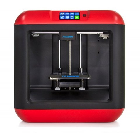 【メーカー保証1年間】 FDM式 Flashforge 3D Printer Finder (レッド)