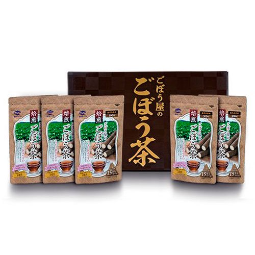 ごぼう茶15包×5個入り