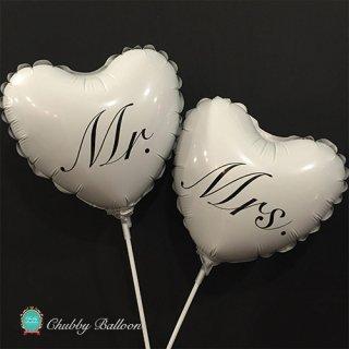 フォトプロップスバルーン Mr.&Mrs